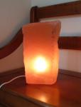 LAMPE SELENITE ROUGE 7