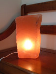 LAMPE SELENITE ROUGE 7